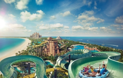 ATLANTIS THE PALM, DUBAI. Aquaventure Waterpark