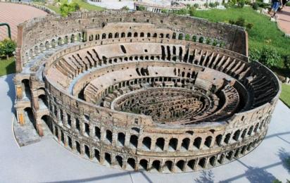 Италия в миниатюре. Колизей. Римини