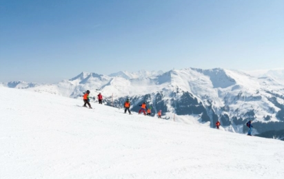 Заальбах. Лыжные трассы