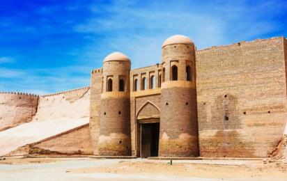 Узбекистан. Хива. Ичан-Кала. Историческая архитектура