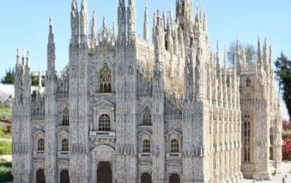 Италия в миниатюре. Миланский собор. Римини