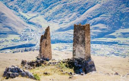 Северная Осетия. Куртатинское ущелье