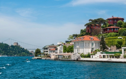 Пролив Босфор в Стамбуле