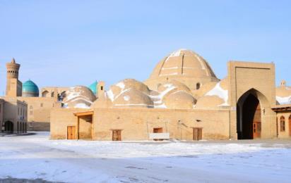 Узбекистан. Бухара. Зима