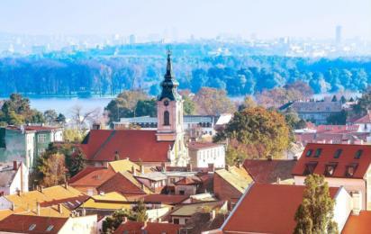 Сербия. Белград. Район Земун