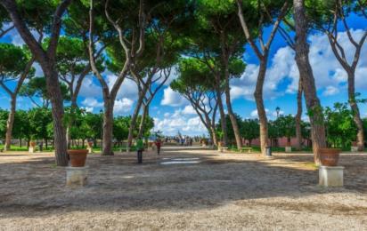 Рим. Авентинский холм. Апельсиновый сад
