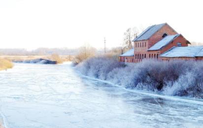 Гвардейск (Калининградская область). Зимний пейзаж