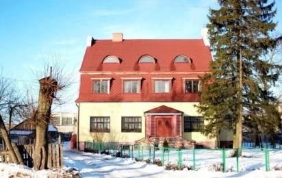 Полесск (Калининградская область). Зима. Старый немецкий дом