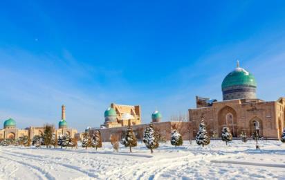 Узбекистан. Ташкент. Религиозный комплекс Хазрати Имам