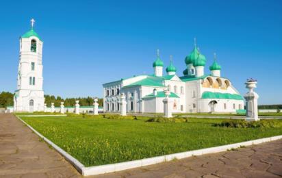 Ленинградская область. Александро-Свирский монастырь