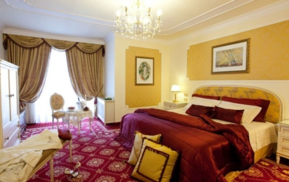 ABANO GRAND HOTEL. Suite imperial