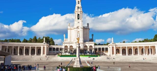 Португалия. Фатима. Базилика Святой Девы Марии