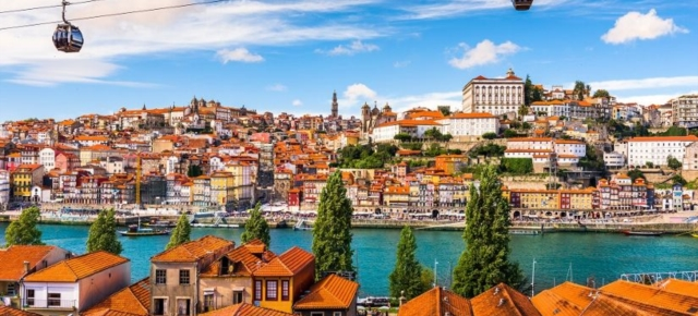 Порту. Вид на старый город