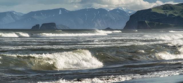 Камчатка. Халактырский пляж