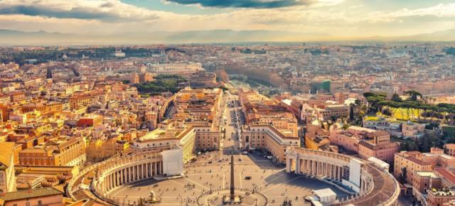 Рим. Ватикан. Площадь Святого Петра
