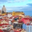Лиссабон. Вид на город