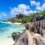 Сейшелы. Пляж на острове Ла Диг