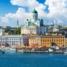 Хельсинки. Порт в Старом городе. Рыночная площадь