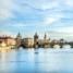 Прага. Влтава. Карлов мост